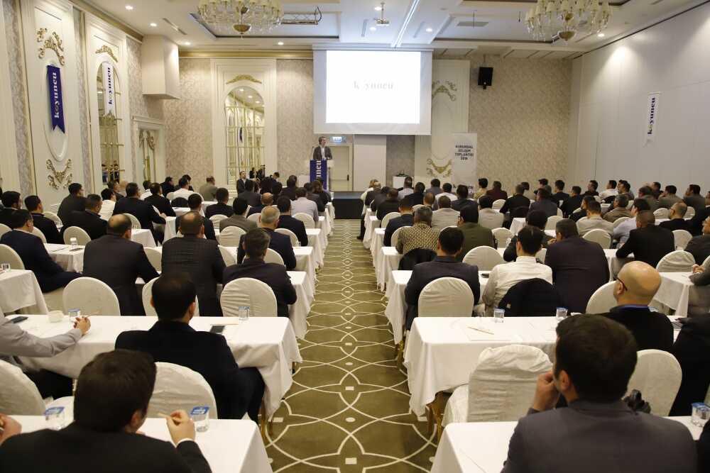 La reunión de desarrollo corporativo del Grupo Koyuncu 2019 se celebró en Antalya - Koyuncu Sal