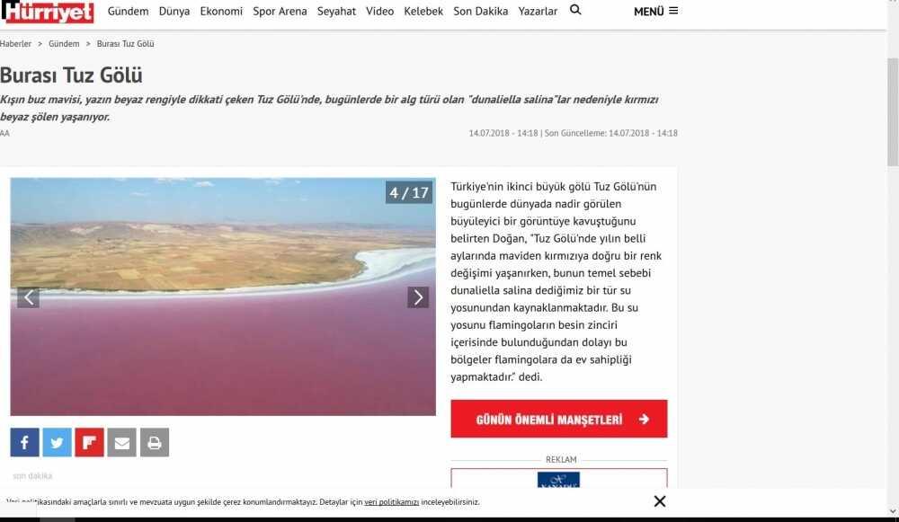 Koyuncu Salt Production is Being Noticed by the National Press - Koyuncu Salt