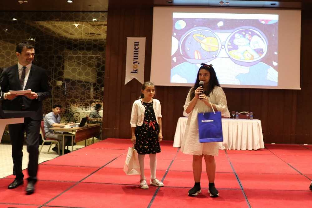 The Winners of the Painting Contest were Awarded with a Ceremony - Koyuncu Sel