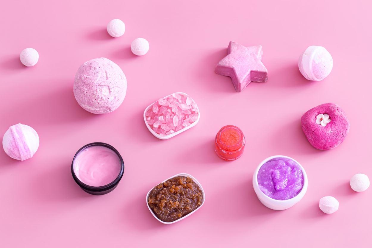 multicolor salt
